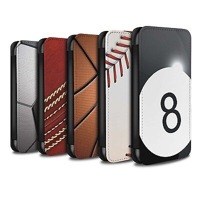 STUFF4 PU Leather Case/Cover/Wallet for OnePlus 3/3T/Sports Balls