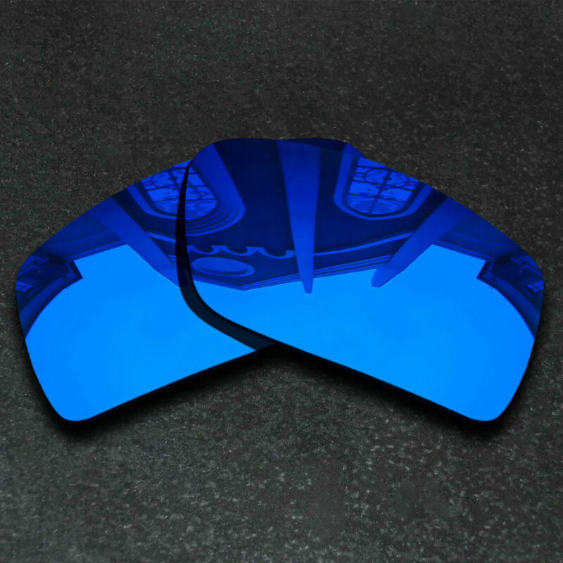 Deep Blue Replacement Lenses For-Oakley Gascan Sunglasses Frame Polarized
