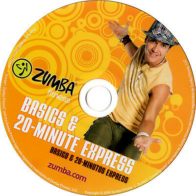 Zumba DVD deutsch Basics & 20-Minute Express in OVP Fitness Original Set
