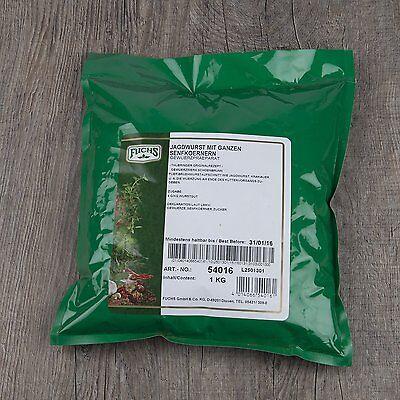 Jagdwurst mit ganzen Senfkörnern Gewürzmischung 1kg OVP