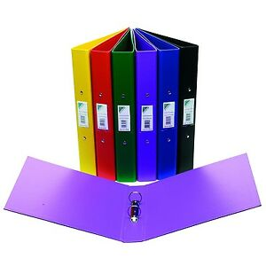 INITIATIVE-A4-RING-BINDERS-2-RING-25mm-CAPACITY-VARIOUS-COLOURS