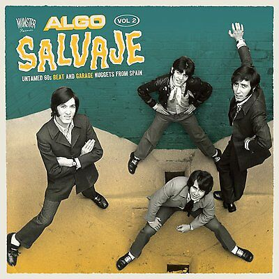 2LP ALGO SALVAJE 2 SPANISH FREAKBEAT NUGGETS GARAGE VINYL ARCHIDUQUES GRITOS
