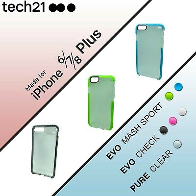 Tech21 iPhone 6/7/8 PLUS Evo Case / Check / Tactical Extreme / Gem / Pure