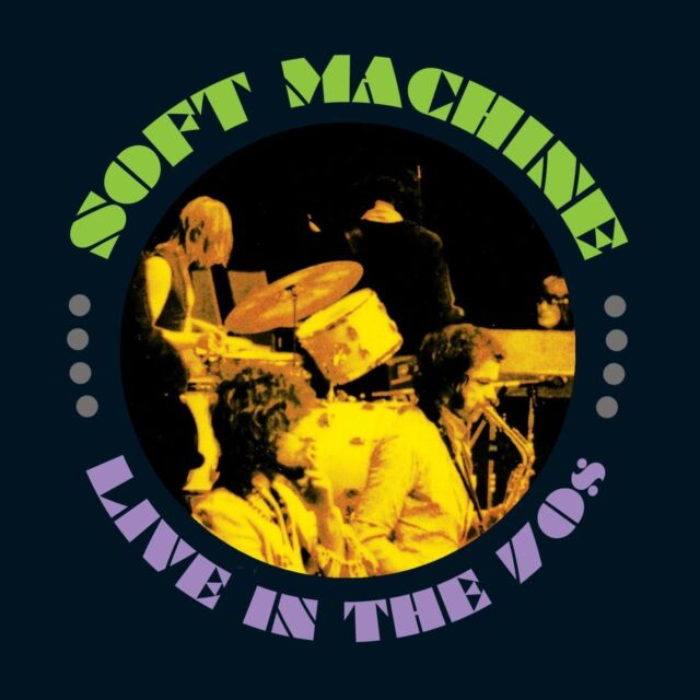 Soft Machine Live In The 70s 4-CD NEW SEALED 2015