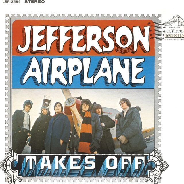 Jefferson Airplane - Takes Off 180g vinyl LP NEW/SEALED Surrealistic Pillow