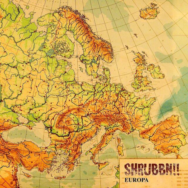 SHRUBBN!! - EUROPA   CD NEU