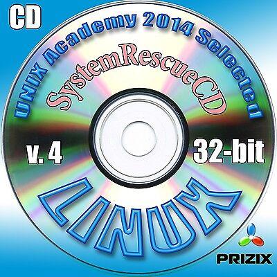 SystemRescueCD version 4 Linux 32-bit Complete Installation CD