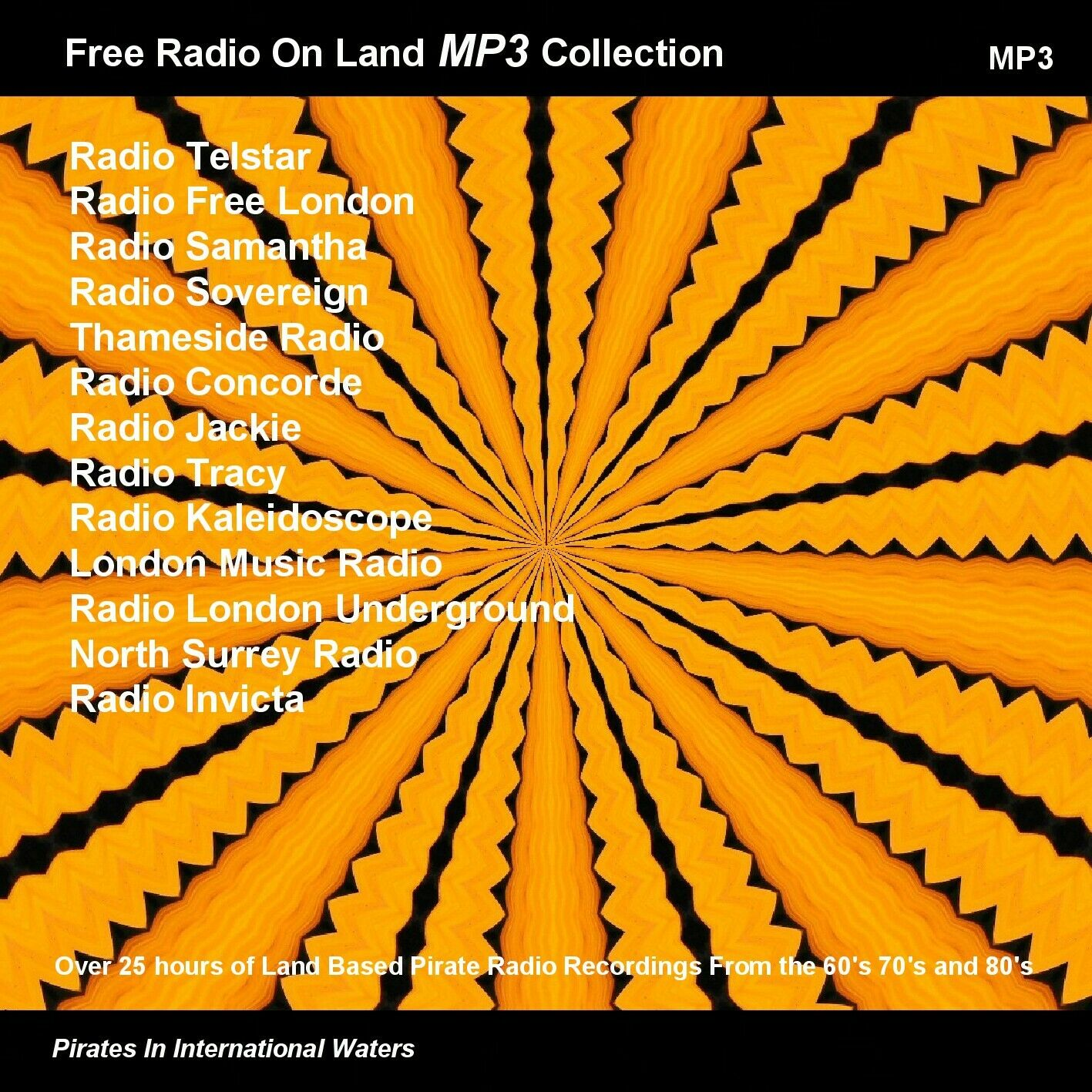 Details about Pirate Radio Land Based Volumes 1 & 2 (60s 70s, 80s, 90s)