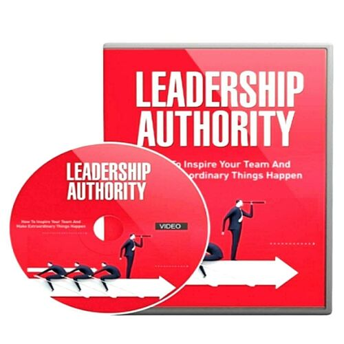 Leadership Authority Gold Video Course (Digital Download) Master Resell Rights