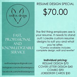 Need the job? $70 resumes! Contact me!