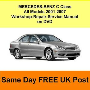 mercedes benz c class w203 workshop repair service