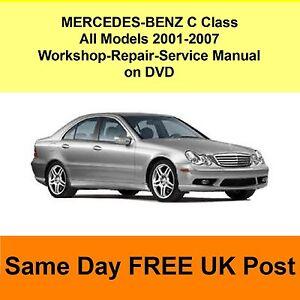 Mercedes W203 Repair Manual free Download link