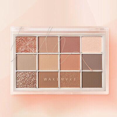 WAKEMAKE Soft Blurring eye Palette10g 04 Coral Blurring 2021 Aug K-Beauty