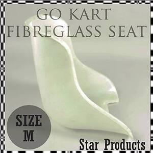GoKart Fibreglass Moulded UNPADDED Seat - SMALL OR MEDIUM Malaga Swan Area Preview