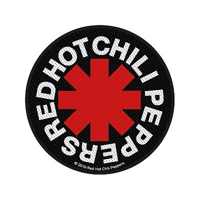 Red Hot Chili Peppers Logo rund  Patch/Aufnäher 602954 # (Red Hot Chili Peppers-logo)