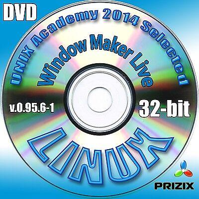 Window Maker Live 0 95 6 1  32 Bit Complete Installation Dvd