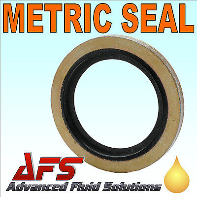 GERMAN METRIC Bonded Dowty Seal Self Centering Sealing Washer Hydraulic Fuel AFS