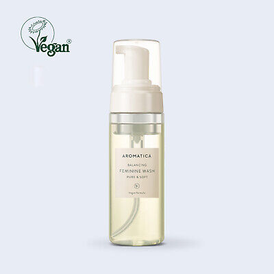 AROMATICA Balancing Feminine Wash Pure & Soft 5.74oz /170ml Vegan K-Beauty