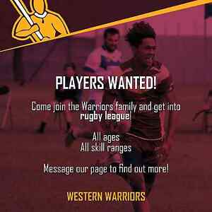Rugby league players wanted all age groups adelaide Port Adelaide Port Adelaide Area Preview
