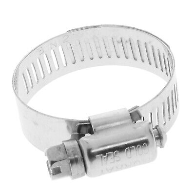 Stainless Steel Worm Gear Clamp-Size:1-1/2 inch-200 pack