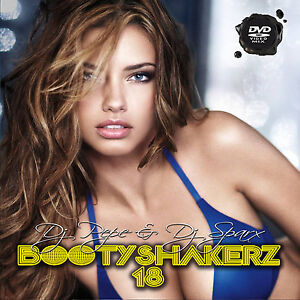 Bootyshakerz Music Video Mix DVD Vol.18 R&B-Hip Hop-House-Bounce-Top 40