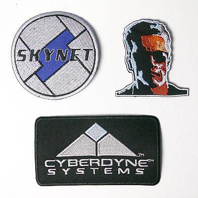 TERMINATOR / CYBERDYNE SYSTEMS PROP PATCH Series - Cheap, UK, Free - Cheap Props