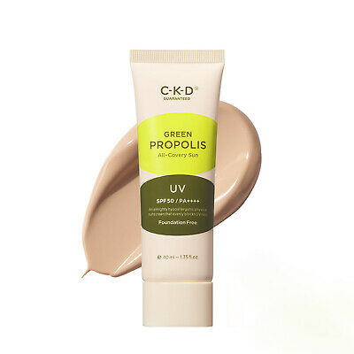 C-K-D Green Propolis All-Covery Sun SPF50+/PA++++ 1.35oz / 40ml K-Beauty