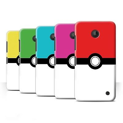 STUFF4 Back Case/Cover/Skin for Nokia Lumia 635/Pokeball Anime Inspired ()