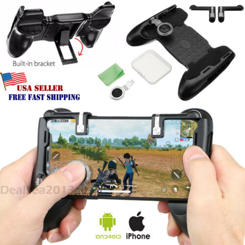 Gaming Joystick Handle Holder Controller Mobile Phone+Shoote