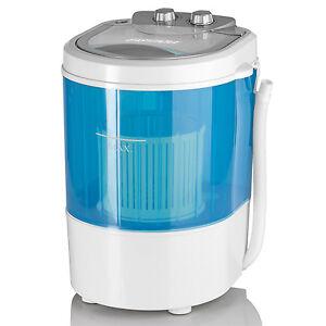 EASYmaxx kleine Mini Waschmaschine 260W bis 3kg Camping Boot Reisewaschmaschine