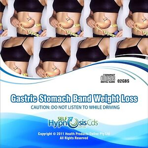 Gastric Stomach Band Hypnosis CD Weight Loss Hypnotherapy - NO SLIMMING PILLS!