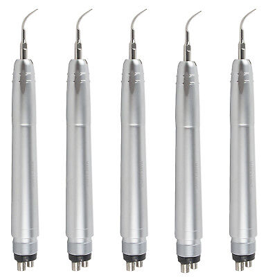 5 Pcs Nsk Style Dental Air Scaler Scaling Handpiece With G1g2p1 Tips 4 Holes