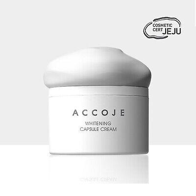 ACCOJE Whitening Capsule Cream 1.69oz /50ml Brightening effect K-Beauty