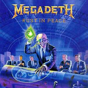 Megadeth - Rust In Peace - 180gram Audiophile Vinyl LP *NEW & SEALED*