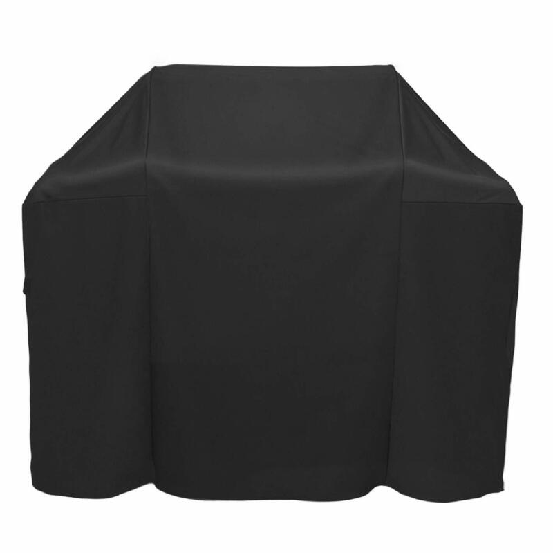 """48"""" BBQ Grill Cover Black Protector For Weber Spirit II E210"""