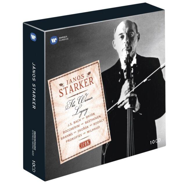 JÁNOS STARKER - ICON:JÁNOS STARKER 9 CD NEU BACH/BEETHOVEN/BOCCHERINI/+