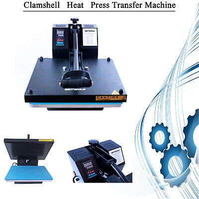 15x15digital Clamshell Transfer Sublimation Heat Machine Tshirt Printing Press