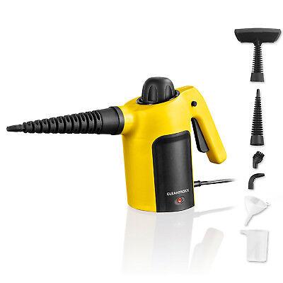 CLEANmaxx Handdampfreiniger, gelb-schwarz, B-Ware