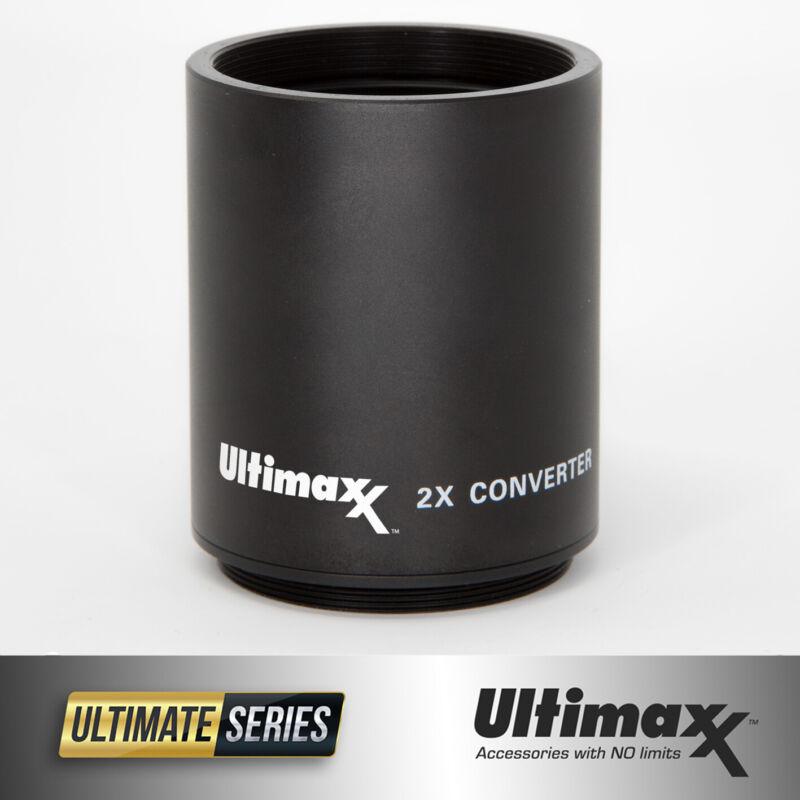 2X Teleconverter Converter for 500mm 800mm & 650-1300mm T-Mount Lenses