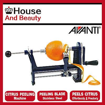 Citrus-peeling (New AVANTI Citrus Peeling Machine Orange Peeler S/Steel Navy Genuine Free Post)