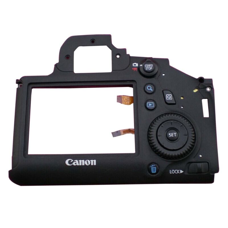 Original Rear Back Cover w Button Part Replacement For Canon 6D Camera Repair