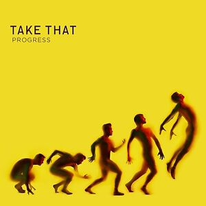 TAKE THAT Progress UK CD NEW/UNPLAYED