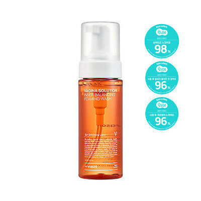 VASOL Inner Balancing Foaming Wash 5.07oz / 150ml Feminine Cleanser K-Beauty