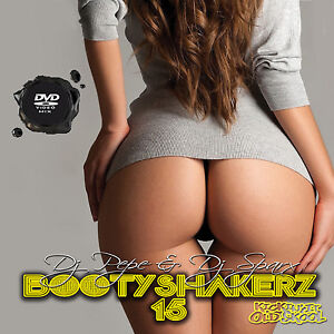 Bootyshakerz Music Video Mix DVD Vol.15 R&B Hip Hop-Funk-Old Skool