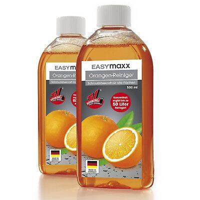 EASYmaxx Orangen Reiniger Set 3tlg Haushaltsreiniger Reinigungskonzentrat
