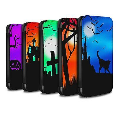 PU Leather Case/Cover/Wallet for Samsung Galaxy S8 Plus/G955/Halloween - Halloween Forest Scene