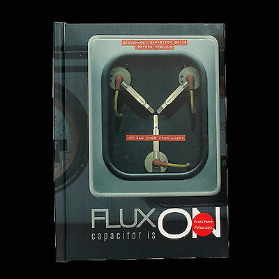 Back to the Future Flux On Light Up Notebook
