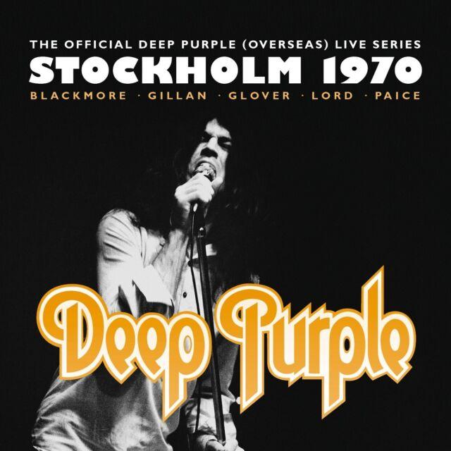 DEEP PURPLE - STOCKHOLM 1970 3 VINYL LP NEU