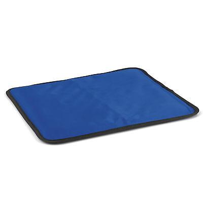 VITALmaxx Wärmekissen Kühlkissen 35x30cm Blau Kompresse Kühlpack Sport Unfall - Kissen Mikrowellengeeignet