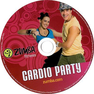 Zumba DVD Cardio Party OVP deutsch Fitness 100% die Party mit Beto Party